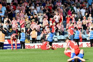 There was late heartbreak for Sunderland at Peterborough