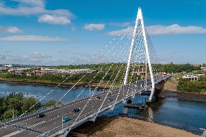 Northern Spire will be one of the landmarks lit up tonight in honour of Sri Lanka.