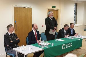 The North of Tyne hustings hosted by Alnwick Area Friends of the Earth.