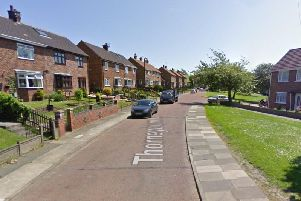 Thorneyburn Close, in Houghton. Copyright Google Maps.