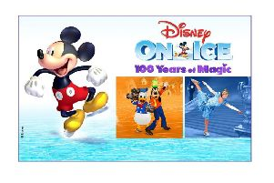See if you can spot your favourite characters at Disney on Ice.