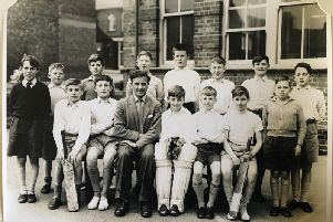 The school team cricket photograph that George would love your memories on.