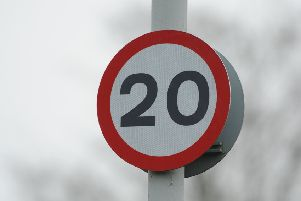 20mph zopnes will be introduced