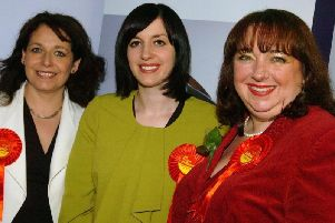 Sunderland MPs (from left) Julie Elliott, Bridget Phillipson and Sharon Hodgson at a previous general election count