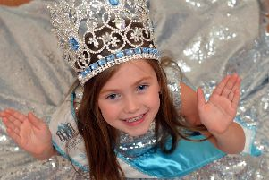 Quinn Lownie, 6  has won the Princess Miss Belle 2019 pageant competition
