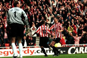 Dynamic duo Niall Quinn and Kevin Phillips both won Player of the Season awards while at the Stadium of Light