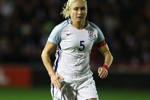 England captain Steph Houghton was among those to send messages of support to the audience.