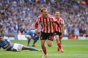 Aiden McGeady has netted 11 league goals for Sunderland this season.