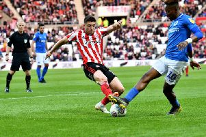 Lynden Gooch performed well after a late call up to the Sunderland side on Saturday night