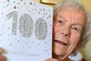 Dolly Wise has celebrated her 100th birthday.