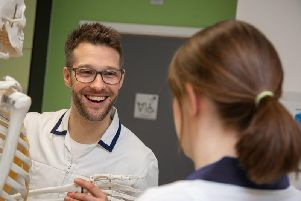 Chris Carter, programme leader for physiotherapy at the Sunderland University.