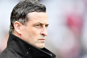 Jack Ross has urged his players to embrace the challenge at Fratton Park on Thursday night
