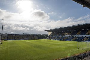 Mansfield Town's One Call Stadium. (Photo by Nathan Stirk/Getty Images)