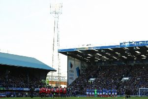 Sunderland faced Portsmouth at Fratton Park yesterday evening.
