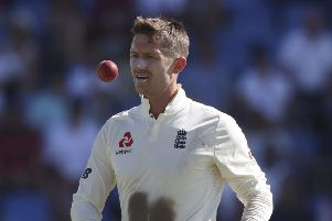 England's Joe Denly: Could miss out.