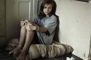 Labour critical of the Government over child poverty in the UK. (Picture posed by actress)