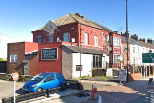 The former Demi Cafe Bar, off North Bridge Street. Picture: Google.