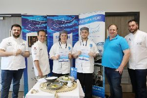 Brandon Green, 18, andKatie Falconer, 17, have secured a place in thefinal of the 2019 UK Young Seafood Chef of the Year competition.