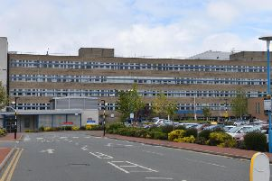 Sunderland Royal Hospital.