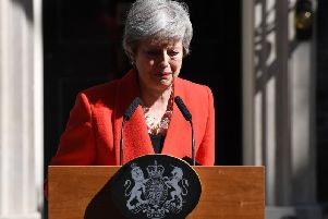 Theresa May announces her departure date in Downing Street today
