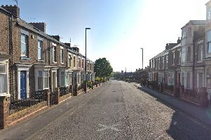 Police were called to Peel Street in Sunderland.'Image by Google Maps.