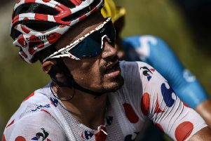 Julian Alaphilippe of France was last year's Tour of Britain winner