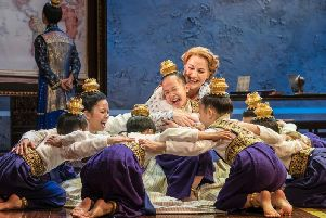 The King and I is on stage at Sunderland Empire until June 15