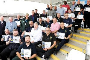 The North East Ambulance Service Volunteer Awards 2019.