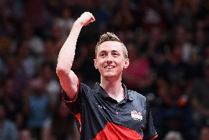 Chesterfield's table tennis ace is a multiple national champion and British No.1, a two-time Olympic Games competitor and won a clutch of medals over three Commonwealth Games appearances