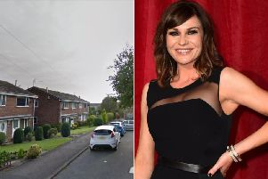 A friend of Emmerdale actress was the victim of an attempted carjacking in Farsley (Photo: Google / Matt Crossick - PA).