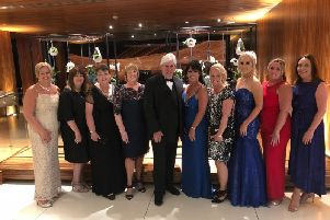 The Althams Travel senior management team at the awards