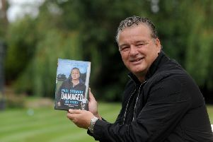 Former Blackpool and England footballer Paul Stewart who tells of his abuse experiences as a child in his autobiography