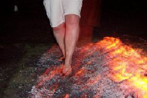 The Saint Catherine's fire walk will take place on Saturday, November 9.