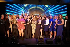 Winners at the Wakefield Express Excellence in Business Awards 2019