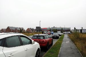 On-road parking on the approach to Buckshaw Parkway railway station is set to end with double yellow lines to be introduced