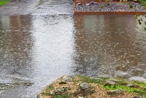 Bridgewater Avenue in Anchorsholme - properties at risk as water levels rise. Credit: Lynn O'Connor
