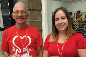 The BHF fundraising group in Scarborough is hoping more people will join as volunteers.