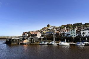 Whitby has been voted one of the 10 dog friendliest places in the UK.