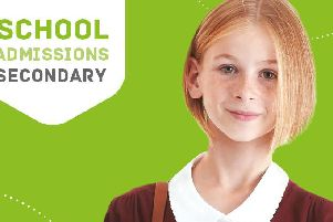The closing date for secondary school applications is Hallowe'en
