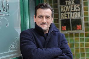 Soap-star Chris Gascoyne