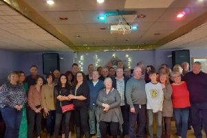 Former classmates from St Theodore's sixth form in Burnley were joined by their family and friends for a school reunion.
