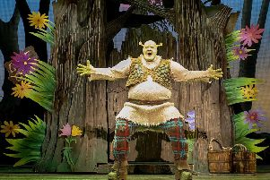 Shrek the Musical is on at the Grand Theatre Leeds