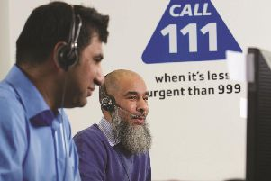 Telephone advice is helping to relieve frontline services.
