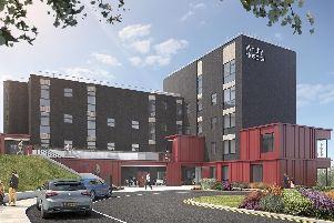 An artists impression for Whitby Hospital