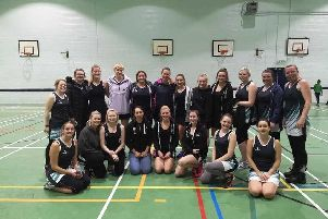 Scarborough Ladies Netball League Team Picture Special