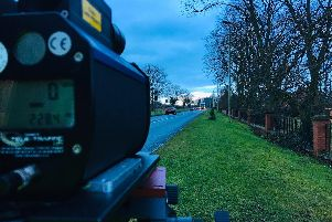 14 offences were speed related ranging from 35-41mph