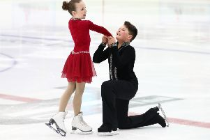 Ice Dance skating pair Harry Bennett and Nikolet Wrigley are well on their way to their dream of British champions and Olympic gold