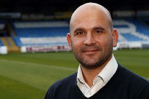 Featherstone Rovers chief executive Davide Longo