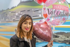 Sabah Tariq, a business management and leadership degree student at CU Scarborough, has launched Sabah's Balloons.