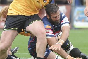 Nick Civetta will miss the Knights' trip to Ealing due to international duty